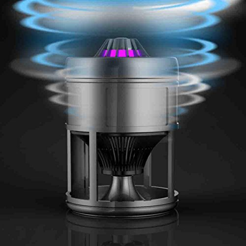 Stheanoo USB Powered Mosquito Killer Non-toxic, Non-Radiative, Safe LED Mosquito Trap Lamp Electronic Insect Zapper with Suction Fan by Stheanoo Zapper (Image #2)