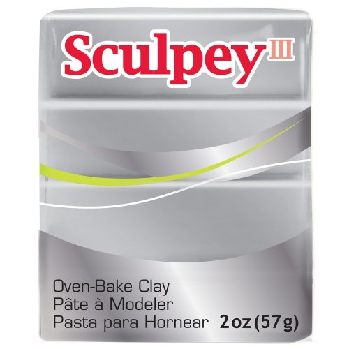 (Sculpey Art Clay III, Silver)