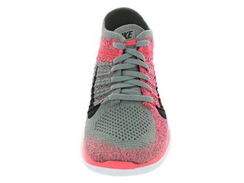 Nike Free Flyknit 4,0 W Zapatillas de running para mujer Lght Chrcl/Blk/Hypr Pnch/Brght