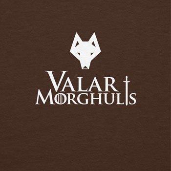 Texlab Got: Valar Morghulis - Damen T-Shirt, Größe S, Braun