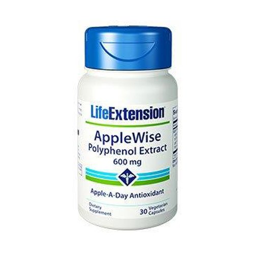Life Extension AppleWise (Apple-A-Day Polyphenol Extract) 600 Mg, 30 Vegetarian Capsules