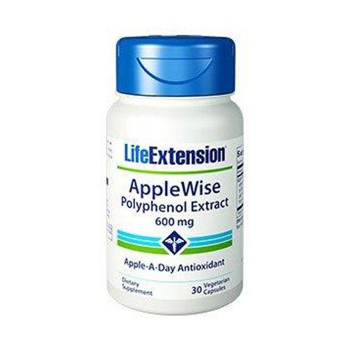 AppleWise Polyphenol Extract 600 mg 30 ベジキャップ粒海外直送 B007GAOTFY