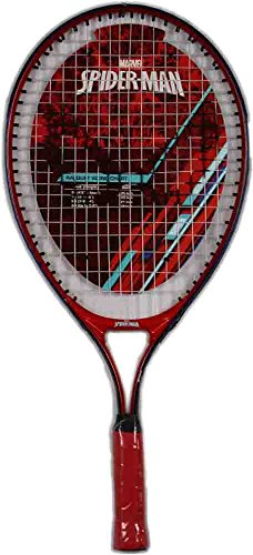 Marvel Junior Spider-Man Tennis Racquet, Red/White/Blue, 21″