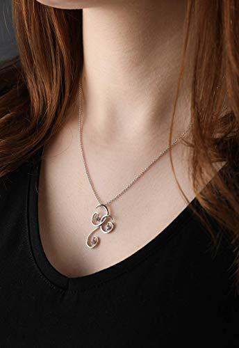 Solitaire Diamond Necklace, Silver Necklace With Aquamarine, Necklace With Charm, Diamond Charm Choker, Necklace For Women, Diamond Pendant