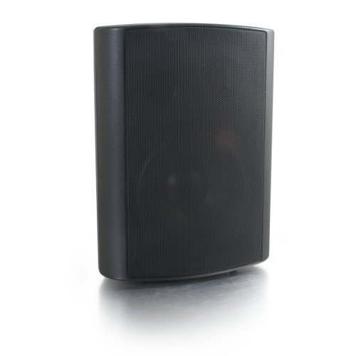 C2G 39908 Wall Mount Speaker 70V, Black (5 Inch)