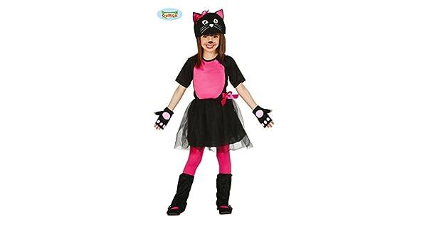 Disfraz de gatita 3-4 años: Amazon.es: Juguetes y juegos