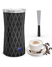 morpilot 3-in-1 melkopschuimer, elektrisch melkreservoir, automatisch verwarmen en koelen, gemakkelijk te reinigen met anti-aanbaklaag, voor melk, warme chocolade en cappuccino, 500 W, 350 ml