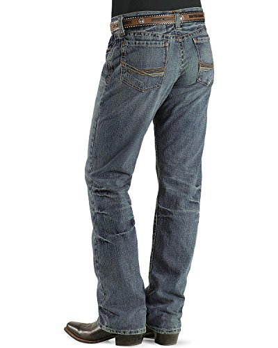 Ariat Men's Denim Jeans M4 Scoundrel Relaxed Fit Big And ...
