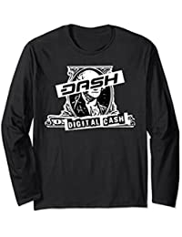 Dash Digital Currency Crypto Money Future Long Sleeve Shirt