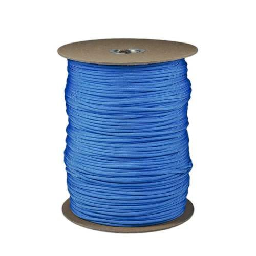SGT KNOTS Paracord 550 Type III 7 Strand - 100% Nylon Core and Shell 550 lb Tensile Strength Utility Parachute Cord for Crafting, Tie-Downs, Camping, Handle Wraps (Baby Blue - 50 ft) by SGT KNOTS (Image #3)