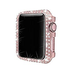 Sparkling Crystal Diamond Bezel With Rhinestone Case