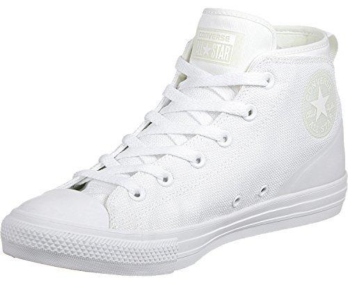 196121ac2b24 Converse Chuck Taylor All Star Syde Street Mid White White White (8.5 B(M)  US Women   6.5 D(M) US)