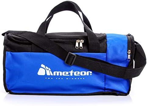 f44585e777f26 meteor Bolsa de Deporte Gimnasio Fitness Viaje Vacaciones Deportiva - Bolso  Universal con Bandolera - Bolsa plegada Ideal para jóvenes y Adultos