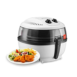 KUPPET Air Fryer - 6.3QT Oil Free Air Fryer w/ Rapid Hot Air Circulation System - Timer (60 Minutes) Temperature (180℉-400℉) Control - Dishwasher Safe - 1200W-1400W, Up to 80% Less Fat, W/Manual