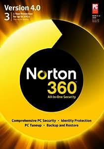 Norton 360 Version 4.0 1 User / 3 PC  [Download] [OLD VERSION]