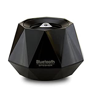 LB1 High Performance New Wireless Bluetooth Mini Speaker for Dell Inspiron 2020 io2020T-5000BK 20-Inch All-in-One Touchscreen Desktop Diamond Bluetooth Speaker with Built-in Microphone for Hands-Free Phone Call (Black)