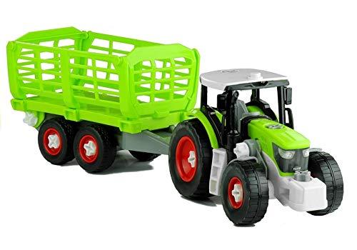 BSD Gedrehter Traktor mit 43 cm Anhänger