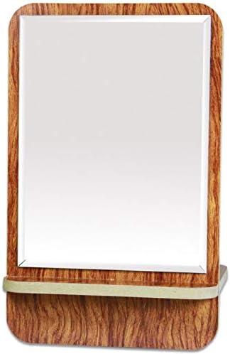 化粧鏡、木製の鏡、デスクトップ化粧鏡、化粧ギフト