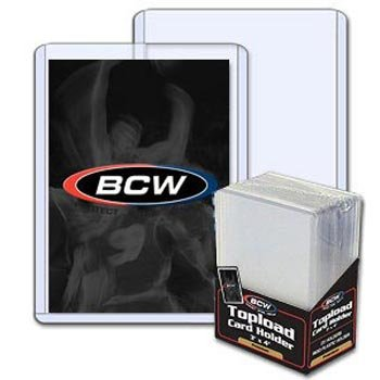 BCW 3X4 Topload Card Holders