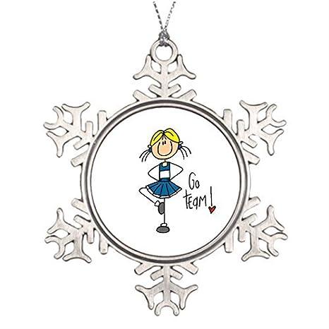 Western Christmas Tree Decorations.Amazon Com Metal Ornaments Western Christmas Snowflake