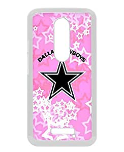 Motorola Moto X 3rd Generation Case ,Dallas Cowboys white Moto X 3rd Gen Cover Fashionable And Unique Custom Designed Phone Case