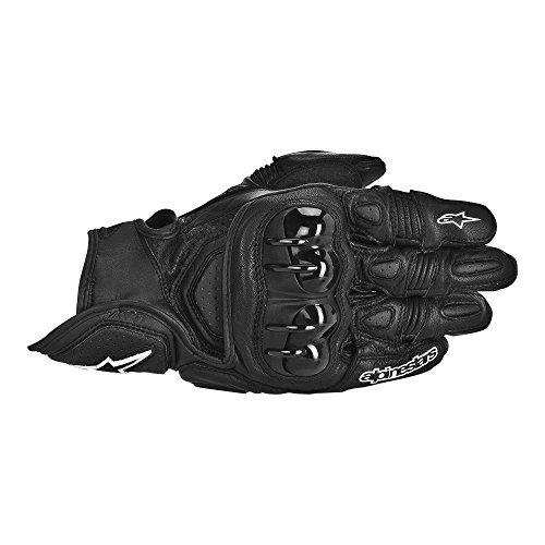 Alpinestars GPX Leather Gloves , Gender: Mens/Unisex, Distinct Name: Black, Primary Color: Black, Size: 2XL, Apparel Material: Leather 3567013-10-2X (Alpinestars Gpx Leather)