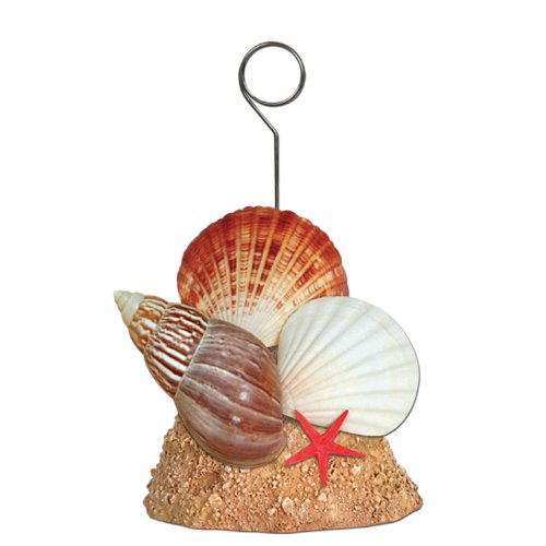 Beistle 50964 Seashell Photo Balloon Holder