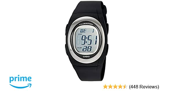 Amazon.com: Casio Mens FE10-1A Classic Digital Black Resin Band Watch: Casio: Watches