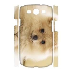 ALICASE Cover Case Pomeranian 3D Diy For Samsung Galaxy S3 I9300 [Pattern-2]