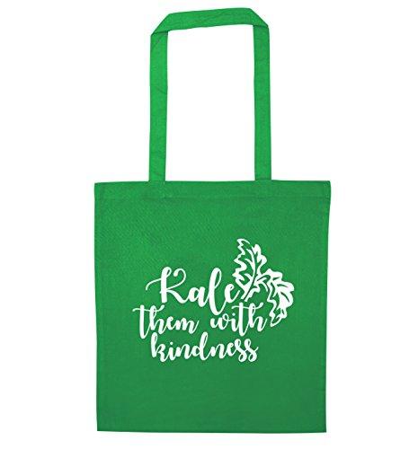 with Tote Kale Kale kindness Bag Flox them Green Creative them pqXtwW1X