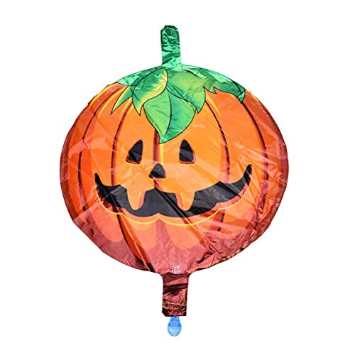 Birthday Of Minni - Happy Halloween Balloons Horror Pumpkin Head Foilhalloween Party Air Balls Decoration Kids - Boys Inflatable Girls Toys Seven 10-year-olds Eight-year-olds Years Kids -