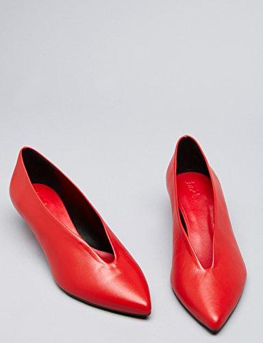 Finde Mary Damer Lukkede Sandaler Rød (rød) SO8w0j
