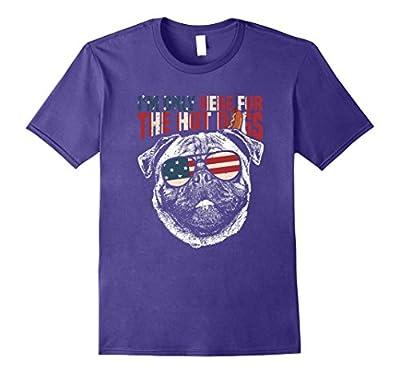 Pug Shirt Funny 4th of July Pup Tee