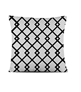 Geometric Diamond Print Decorative Cushion Cover - 40 x 40 cm