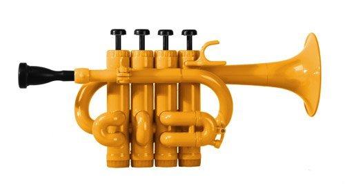 Cool Wind CPT-200 Series Plastic Bb/A Piccolo Trumpet Orange