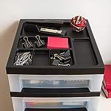 IRIS USA MC-3100-TOP 10-Drawer Storage Cart with
