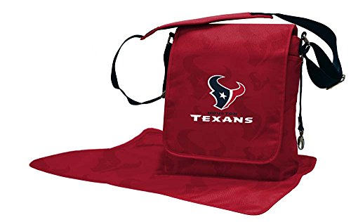 Lil Fan Diaper Messenger Bag, NFL Houston Texans