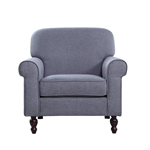 Century Modern Fabric Living Armchair