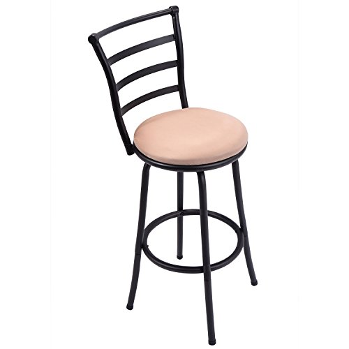 Barstool, GentleShower Modern Swivel Bar Stool Counter Height Chair Bistro Pub Breakfast Kitchen Stools Chair (Breakfast Chairs Stools)