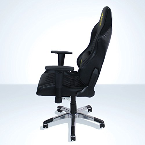 41Qqdtpp6TL - GT-Throne-Immersive-Gaming-Chair-Vibrating-Computer-and-Console-Chair-Racing-Style-High-back-with-Lumber-Support-and-Headrest