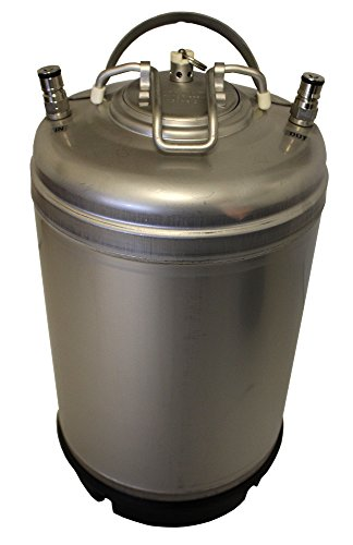 Soda Keg (Varies - AMCYL CKN3-SH 3 gal Keg New Ball Lock Beer, Soda or Tea)