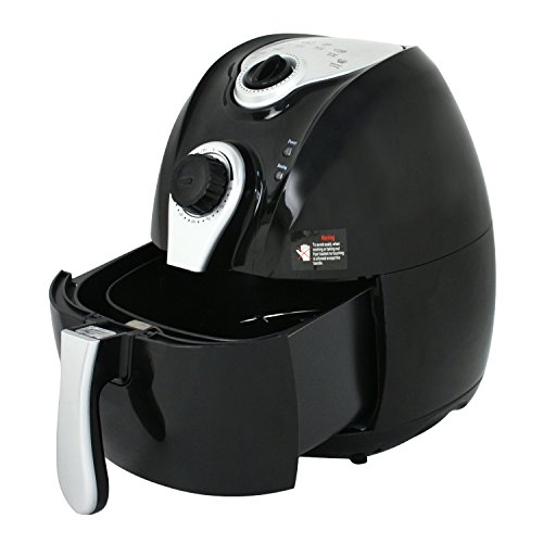 Zeny 1500w Oil Free Electric Air Fryer 4 4qt Capacity Low