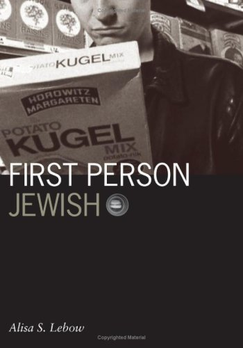 [PDF] First Person Jewish Free Download | Publisher : Univ Of Minnesota Press | Category : Others | ISBN 10 : 0816643547 | ISBN 13 : 9780816643547