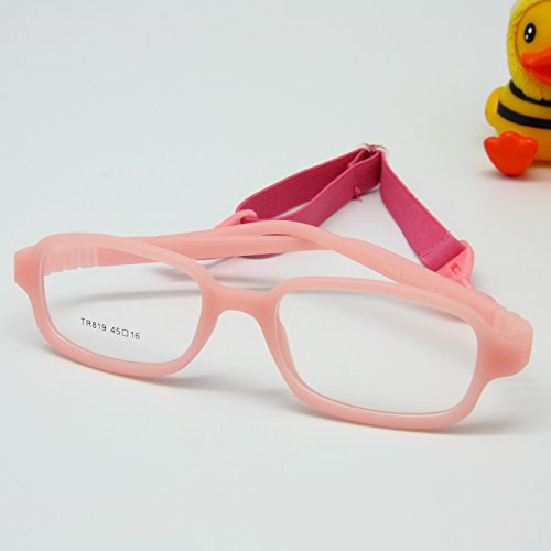 cae79f96393 EnzoDate Boys Girls Size 45 Optical Glasses Frame with Strap