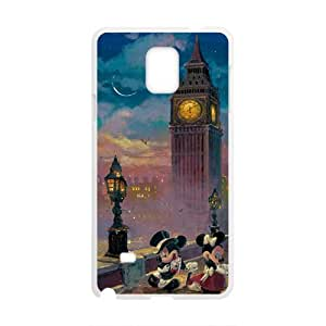 Mickey Mouse under tower Cell Phone Case for Samsung Galaxy Note4 by runtopwell