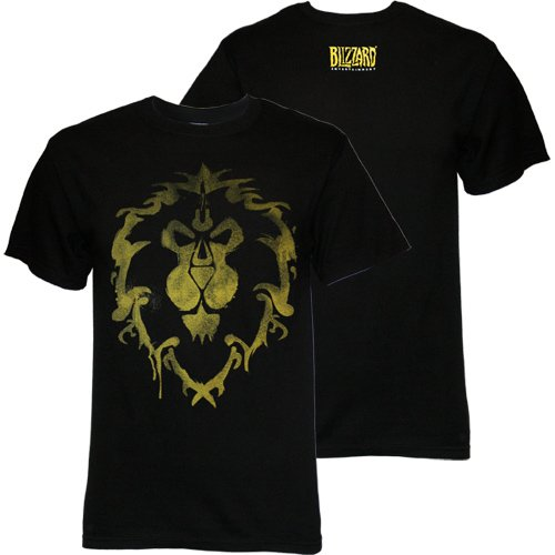 World of Warcraft Men's Alliance Spray Men's T-shirt