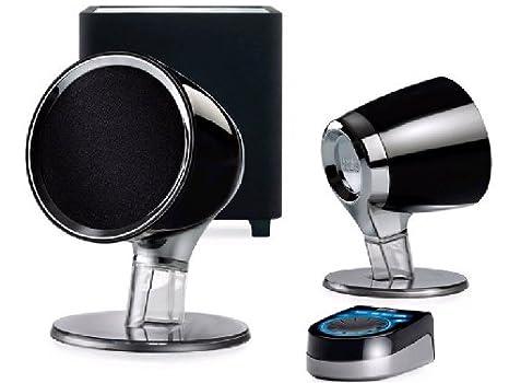 HERCULES XPS 101 2.1 Multimedia Computer Speakers Black New