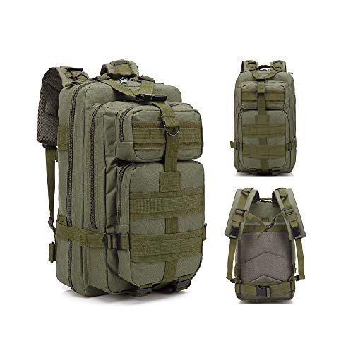- Sonoma Valley Military Tactical Backpack 3 Day Army Molle Assault 30L Waterproof Rucksack Hydration Pack Camel Bag Tactic Bag for Camping Outdoors Backpacking Survival Hiking Hunting Fishing Travel