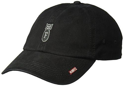 A. Kurtz Men's F-Bomb Baseball Cap, Black, OSFA ()