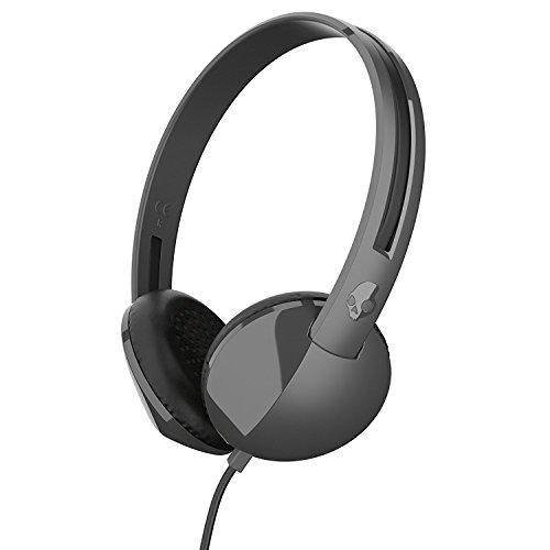 Renewed  Skullcandy S5LHZ J576 Anti On Ear Headphone  Charcoal Black